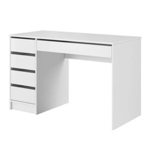 Fésülködőasztal, fehér/magas fényű fehér, DAKOTA kép