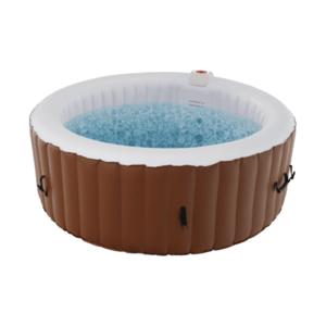 Felfújható pezsgőfürdő, fehér/barna, 2-4 személy, 800 l, Kamino 1 Típus kép