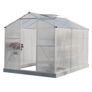 Kerti üvegház, polikarbonát, 190x314x219cm, KACEN TYP 4 kép