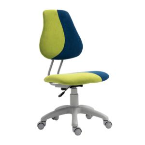 Állítható forgószék, zöld/kék, RAIDON kép