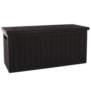 Kerti tároló doboz, barna, DAGON kép