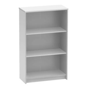 Irodai polcos szekrény, fehér, JOHAN 2 NEW 03 kép