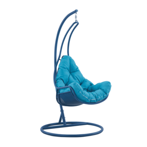 Függő fotel, kék/türkiz, TALISE kép
