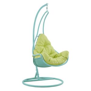 Függő fotel, neomint/zöld, TALISE kép