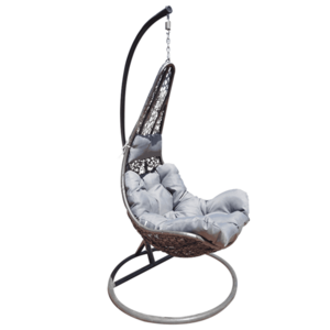 Függő fotel, szürke/világos szürke, KALEA 2 NEW kép