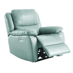Elektromos relaxációs fotel, bőr/ekobőr neomint, VIVAN kép