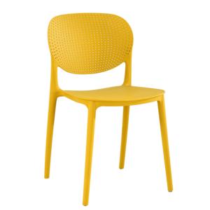 Rakásolható szék, sárga, FEDRA NEW kép