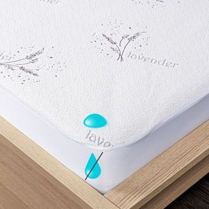 4Home Lavender körgumis vízhatlan matracvédő, 160 x 200 cm + 30 cm, 160 x 200 cm kép