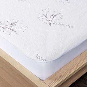 4Home Lavender körgumis matracvédő, 200 x 200 cm + 30 cm, 200 x 200 cm kép