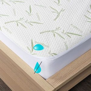 4Home Bamboo körgumis matracvédő, 200 x 200 cm + 30 cm, 200 x 200 cm kép