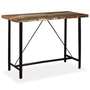 vidaXL fa bárasztal kép