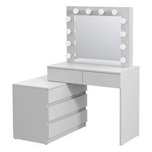 Fehér fésülködő asztal kép