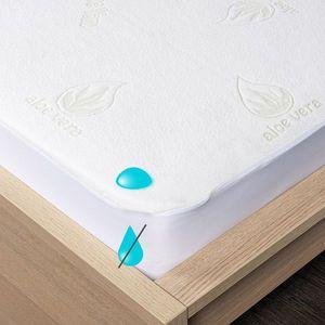 4Home Aloe Vera körgumis matracvédő, 200 x 200 cm + 30 cm, 200 x 200 cm kép